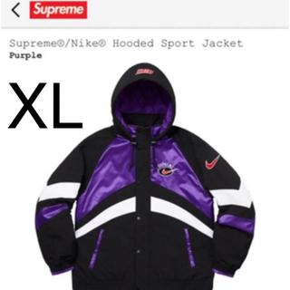Supreme - Supreme Nike Hooded Sport Jacket XL パープル