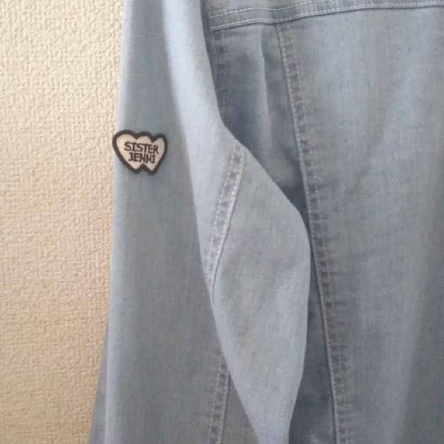 JENNI(ジェニィ)のJENNIデニムジャケット キッズ/ベビー/マタニティのキッズ服 女の子用(90cm~)(ジャケット/上着)の商品写真