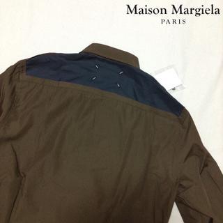 マルタンマルジェラ(Maison Martin Margiela)の新品■38■マルジェラ■18ss■バックカットオフロングシャツ■6189(シャツ)