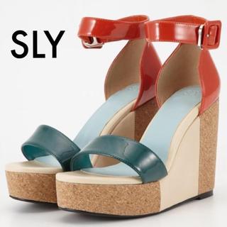 スライ(SLY)のSLY バイカラーサンダル(サンダル)