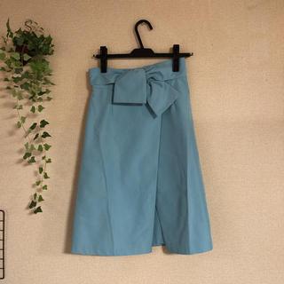 ジャスグリッティー(JUSGLITTY)の新品・タグ付き ジャスグリッティー Aラインスカート(ひざ丈スカート)