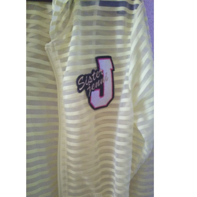 JENNI(ジェニィ)のJENNI☆シースルーパーカー キッズ/ベビー/マタニティのキッズ服 女の子用(90cm~)(ジャケット/上着)の商品写真