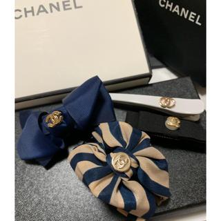 シャネル(CHANEL)のノベルティーグッズ♡ヘアアクセサリー4点セット♡(ノベルティグッズ)