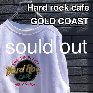 【激レア】ハードロックカフェスウェット made in Australia(スウェット)