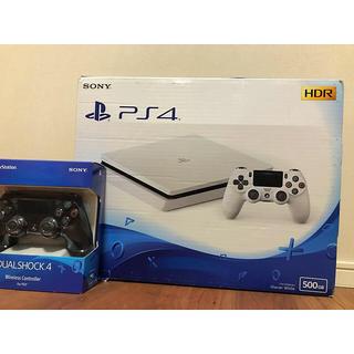 PlayStation4 - 【純正コントローラー2個付‼️】PlayStation4 スリム‼️