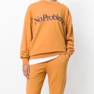 Aries アリーズ スウェット クルーネック No problemo(スウェット)