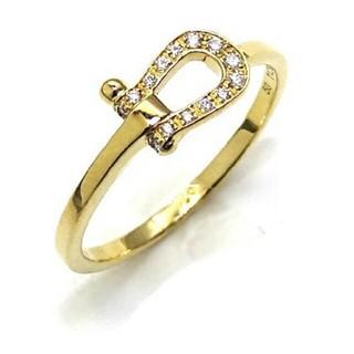 フレッド(FRED)のFRED フォース10ダイヤリング(リング(指輪))