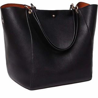 ビームス(BEAMS)の新品♡バッグinバッグ付♡大人気即完売♡大容量2wayトートバッグ♡定番ブラック(トートバッグ)