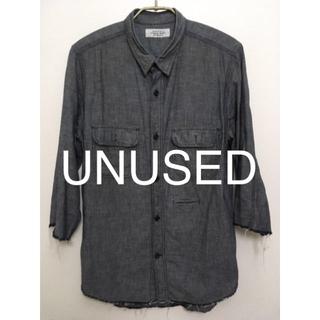アンユーズド(UNUSED)のunusedの七部丈シャツ(Tシャツ/カットソー(七分/長袖))