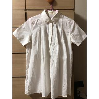 イーハイフンワールドギャラリー(E hyphen world gallery)の白シャツ ブラウス(シャツ/ブラウス(半袖/袖なし))