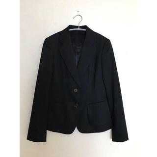 ユニクロ(UNIQLO)のスーツ 上下 レディース ブラック(スーツ)
