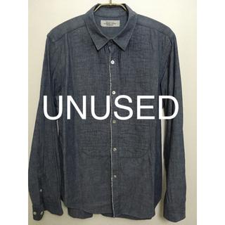 アンユーズド(UNUSED)のunusedのシャンブレーシャツ(Tシャツ/カットソー(七分/長袖))