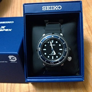 c12277a038 セイコー(SEIKO)のSEIKO PROSPEX セイコープロスペックス EDIFICE 別注モデル(腕時計