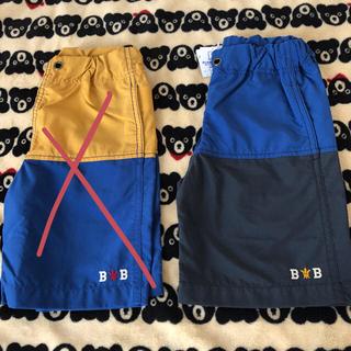 ミキハウス(mikihouse)の新品♡ミキハウス ブラックベア   水陸両用 パンツ 120(パンツ/スパッツ)