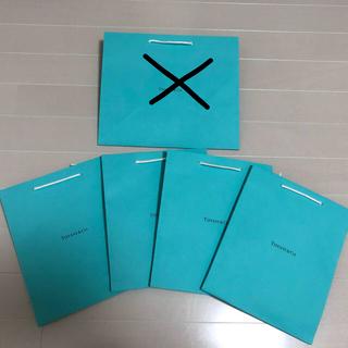 ティファニー(Tiffany & Co.)のTiffanyハートショッパー5点(ショップ袋)
