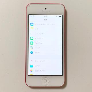 iPodtouch 5世代 32GB ピンク アイポッドタッチ