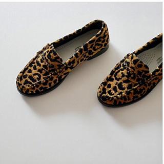 ドゥーズィエムクラス(DEUXIEME CLASSE)のドゥーズィエムクラス RE/DONE LEOPARD LOAFER (ローファー/革靴)