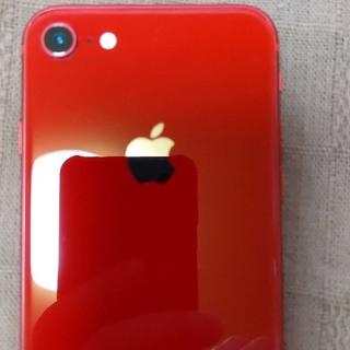 アップル(Apple)のIphone8 Softbank64G赤(携帯電話本体)