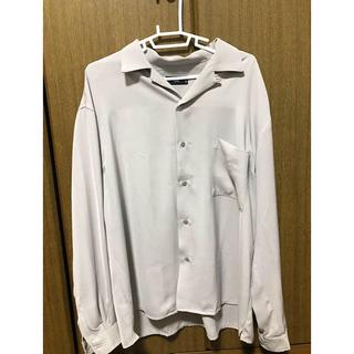 ハレ(HARE)のHARE オープンカラーシャツ サテンカイキンシャツ(シャツ)