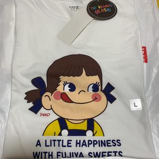 UNIQLO - UNIQLOペコちゃんTシャツ☆新品