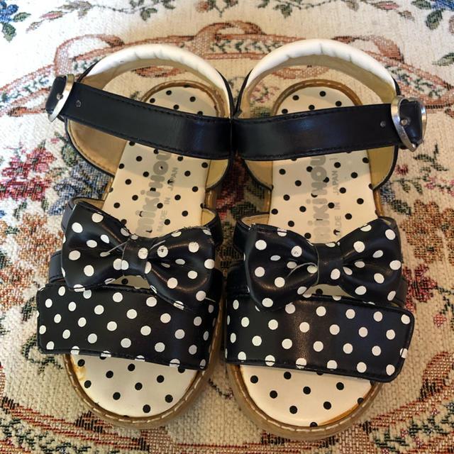 mikihouse(ミキハウス)のミキハウス  サンダル キッズ/ベビー/マタニティのキッズ靴/シューズ (15cm~)(サンダル)の商品写真