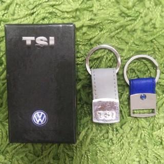 フォルクスワーゲン(Volkswagen)のフォルクスワーゲンキーホルダー TSI(車内アクセサリ)