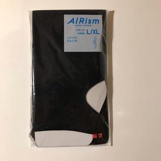 ユニクロ(UNIQLO)のユニクロ エアリズム トレンカ ブラック L / XL 未使用(レギンス/スパッツ)