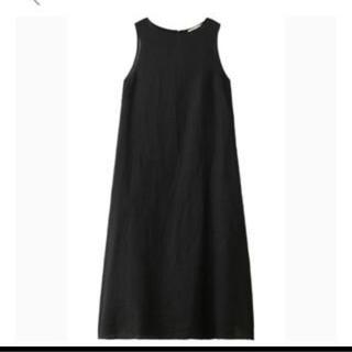 新品ナゴンスタンス フレンチリネンタンクドレス