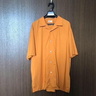 UNIQLO - UNIQLO U ユニクロユー  オープンカラーシャツ(半袖)