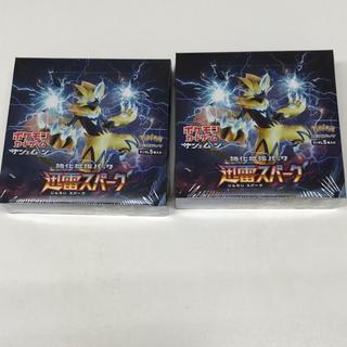 ポケモン(ポケモン)の送料無料 ボックス ポケモンカードゲーム 拡張パック 迅雷スパーク BOX(Box/デッキ/パック)