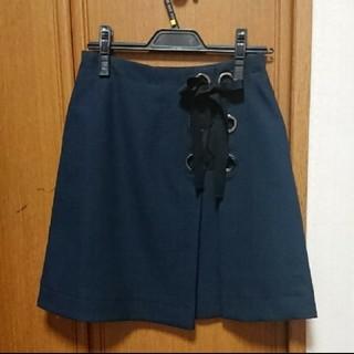 マーキュリーデュオ(MERCURYDUO)のMERCURYDUO 台形スカート S(ミニスカート)