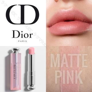 Dior - 【新品箱有】正規品 バックステージ限定 リップグロウ #101 マットピンク♡