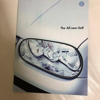 フォルクスワーゲン(Volkswagen)のフォルクスワーゲン ゴルフ カタログ ②(カタログ/マニュアル)