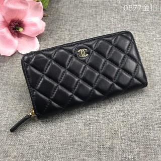 シャネル(CHANEL)のシャネル 財布  CHANEL ブラック(長財布)