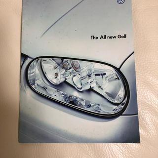 フォルクスワーゲン(Volkswagen)のフォルクスワーゲン ゴルフ カタログ ③(カタログ/マニュアル)