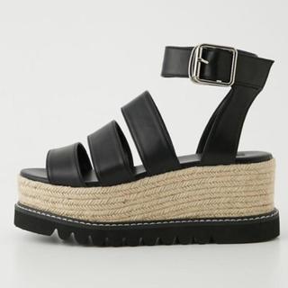 スライ(SLY)の靴 厚底サンダル SLY(サンダル)