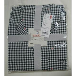 UNIQLO - ユニクロ☆完売品☆ サンリオキャラクターズパジャマ(チェック・長袖) Lサイズ