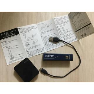 バッファロー(Buffalo)のKENT ポータブルバッテリー(バッテリー/充電器)
