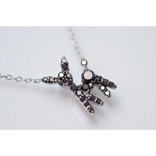 PonteVecchio - K18 ポンテヴェキオ バンビ ブラックダイヤモンド ダイヤモンド ネックレス