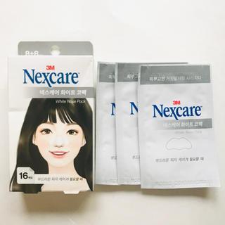 【韓国コスメ】 nexcare 鼻パック 3枚 ノーズパック ネクスケア