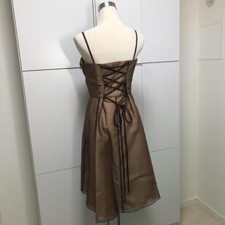 スコットクラブ(SCOT CLUB)の23◆新品プチローブPetirobe オーガンジーワンピースドレス結婚式(ミディアムドレス)