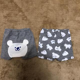 西松屋 - 送料込みくまちゃんパンツ2枚組☆60~70サイズ