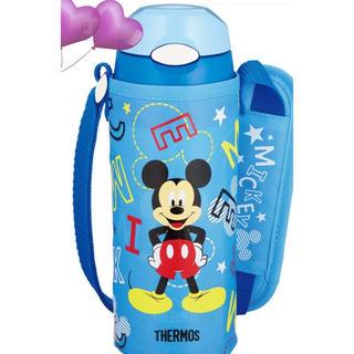 Disney - 💙ワンプッシュストロー付き水筒【保冷用】【ミッキー】新品即購入可