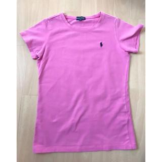 ラルフローレン(Ralph Lauren)のラルフローレン Tシャツ 150 ピンク 女の子(Tシャツ/カットソー)