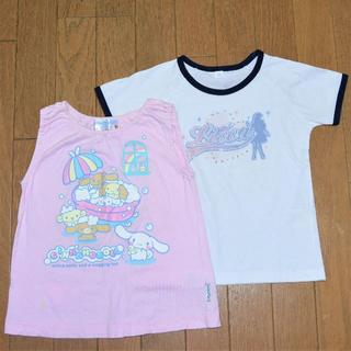 バンダイ(BANDAI)の110cmのTシャツ2枚組(BANDAIとUNIQLO)(Tシャツ/カットソー)