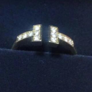 ティファニー(Tiffany & Co.)のタイムセール大特価!ティファニーTワイヤーリングローズゴールド(リング(指輪))