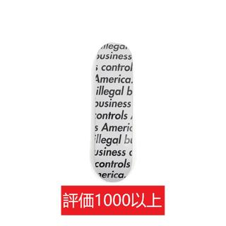 シュプリーム(Supreme)のSupreme Illegal Business Skateboard 白(スケートボード)
