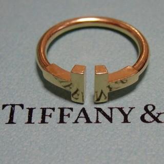 ティファニー(Tiffany & Co.)の大幅値下げ【TIFFANY&Co.】Tワイヤーリング(リング(指輪))