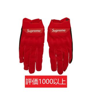 シュプリーム(Supreme)のSupreme Fox Racing Bomber LT Gloves 赤S(手袋)