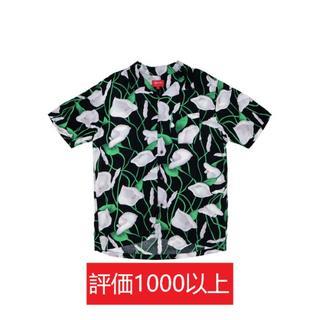シュプリーム(Supreme)のSupreme Lily Rayon Shirt 黒M(シャツ)
